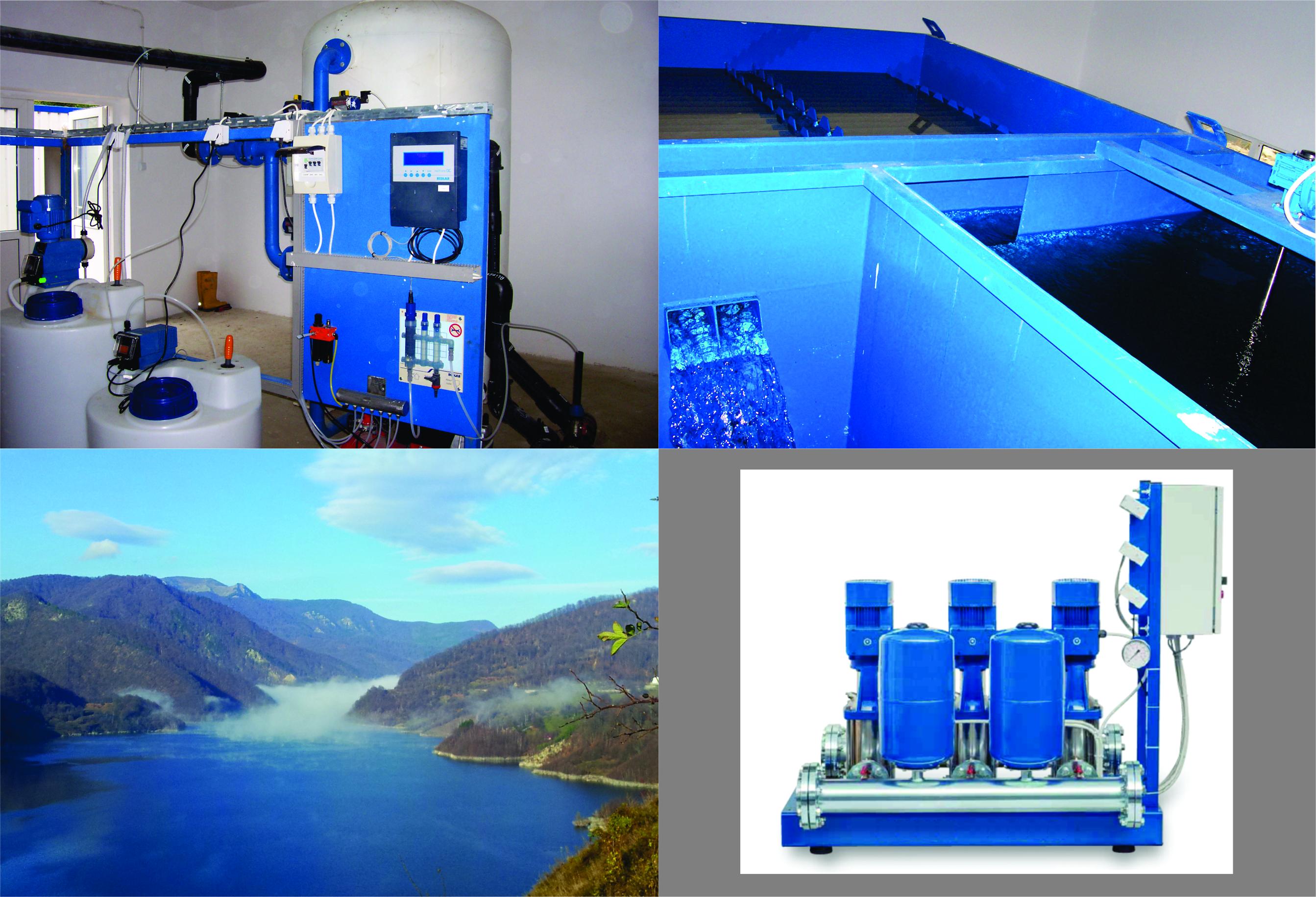 Statii compacte pentru apa de suprafata